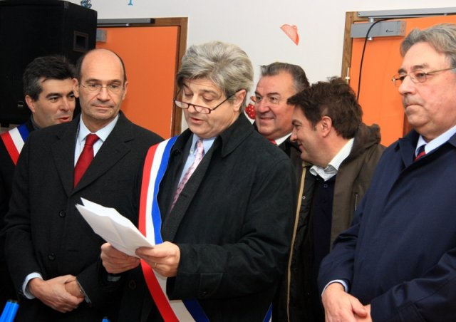 Inauguration cantine