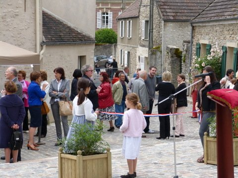 Inauguration place de l'eglise
