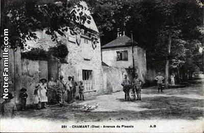 avenue du Plessis